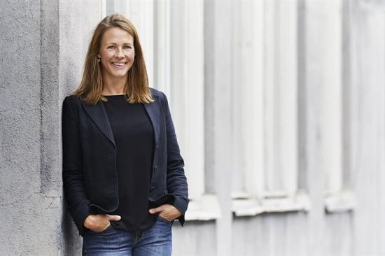 Louise Strömbeck, regionchef på Peab.