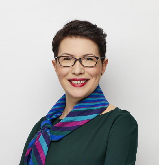 Sveriges Arkitekters förbundsordförande, arkitekt SAR/MSA Tatjana Joksimović.
