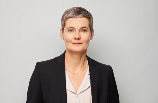 Elisabet Elfström, tf förbundsdirektör på Sveriges Arkitekter.