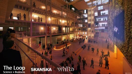 Skanska köper fler byggrätter av Science Village Scandinavia.