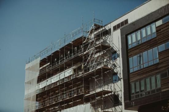 Ökad ombyggnadsvolym inom offentliga lokaler 2019.