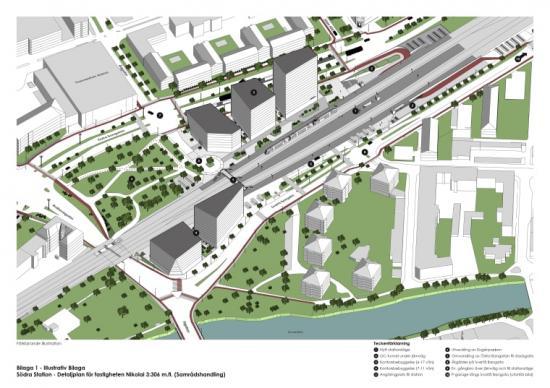 Detaljplanen för Örebro södra är ute på samråd 21 oktober–2 december.