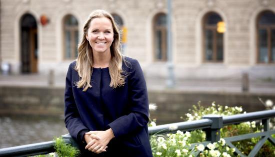 Anastazia Kronberg, Projektledare Gothenburg Climate Partnership.