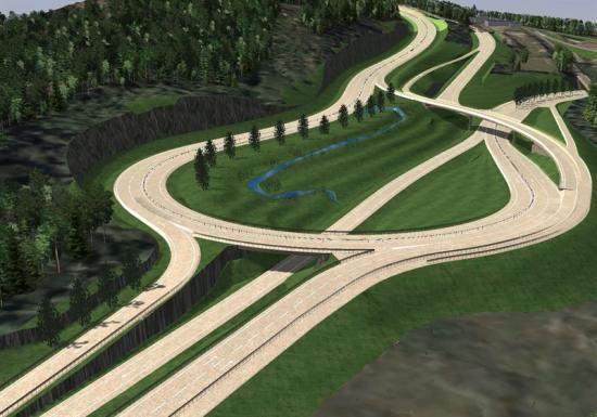 <span>NCC:s uppdrag är att på väg E14, mellan Timmervägen och Blåberget, en sträcka på 6 km, bygga en fyrfilig motortrafikled mellan Blåberget och Nacksta, anlägga planskilda korsningar i Blåberget och i Nacksta, bygga fem broar varav en viltpassage samt bygga om den befintliga vägsträckan mellan orterna.</span>