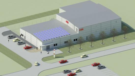 ABB:s nya lågspänningslaboratorium i Västerås.