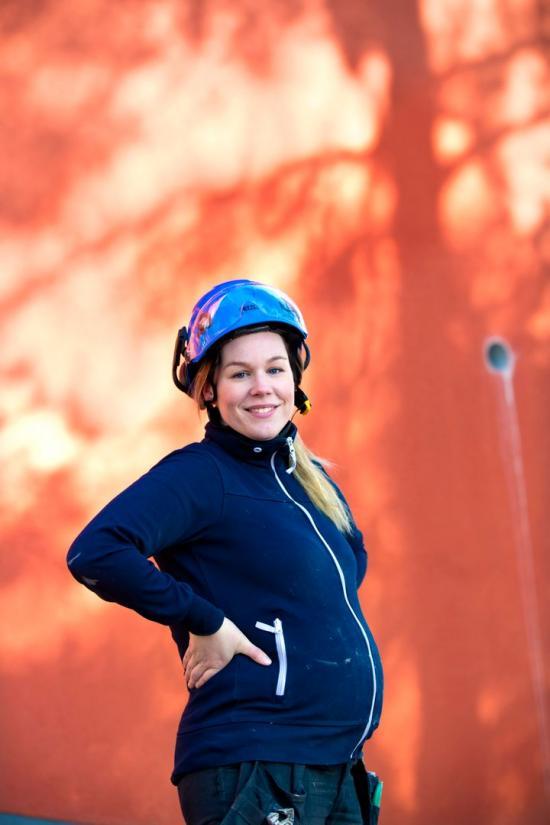 Isabelle Lundberg från Näta, Byggnads kvinnliga nätverk.