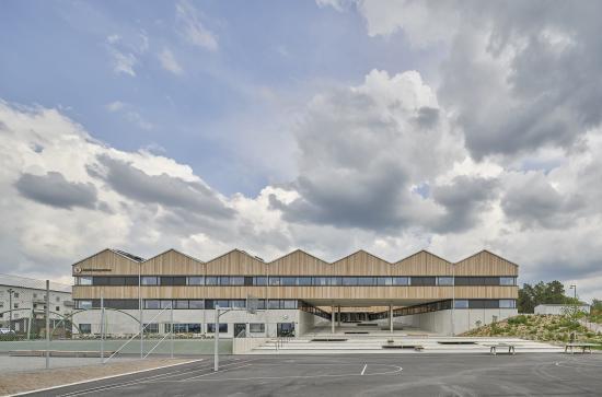 Adolfsbergsskolan, Knivsta. Arkitekt: LLP arkitekter, beställare Knivsta kommunfastigheter/Knivsta kommun.