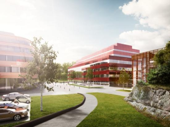 A Working lab i hjärtat av Chalmersområdet i Göteborg.