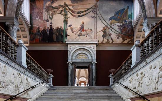 Arkitekter är Wingårdhs/Tengbom och byggherre ärStatens Fastighetsverk.