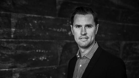 Erik Uhlén, ny finanschef, Sehlhall.