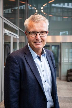 Peter Strand, ny styrelseledamot i Rikshems styrelse.