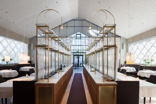 Restaurang Aira, skapad av arkitekt SIR/MSA Jonas Bohlin, är vinnare av Guldstolen 2020.
