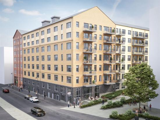 Bostads- och samhällsfastighet Norrköping.