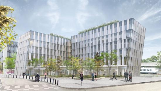 <span>Projektet ligger i Frederiksberg, en del av Köpenhamn där NCC utvecklat och bygger ett nytt huvudkontor till konsultföretaget EY.</span>