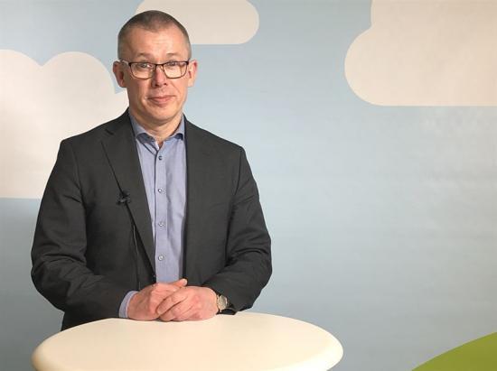 Michael Kjeller, chef Kapitalförvaltning och hållbarheti Folksamgruppen.