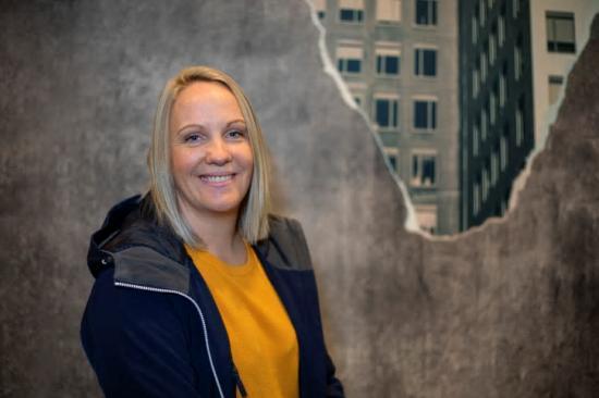 Sofia Nilsson , ny projektchef på Smidmek AB, har tio års erfarenhet av betong- och cementindustrin.
