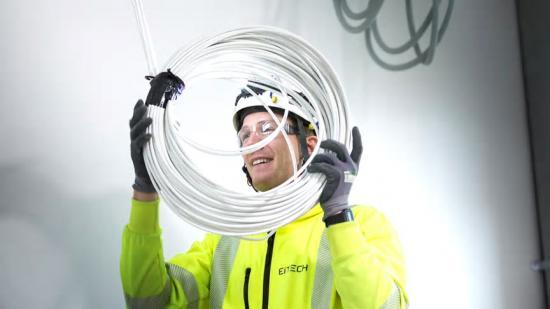 Eitech ansvarar för elteknik i utbyggnad av laboratorier på sjukhuset i Lund.