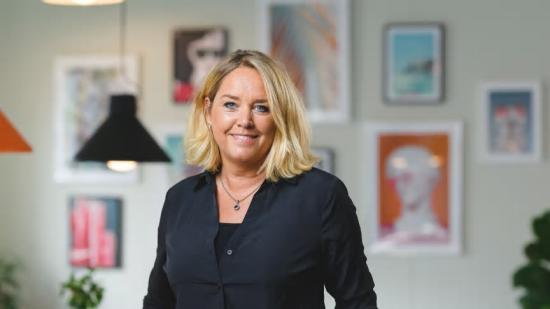 Gunilla Åberg, VD på Next Group.