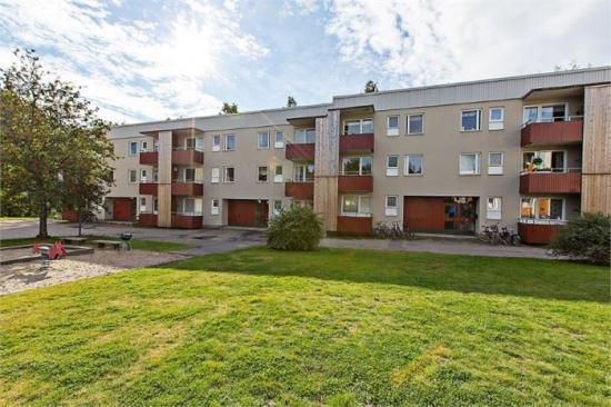 Här längs med Morkullevägen i Umeå planerar Rikshem att bygga ytterligare cirka 100 nya lägenheter om 1-4 rum och kök.