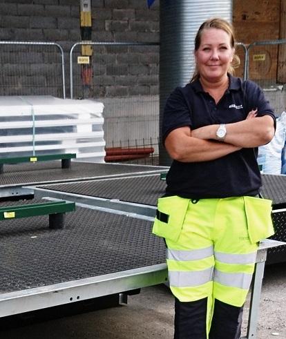 Elisabeth Thörncrantz, ny VD för Door'n Dock Solutions Sweden.