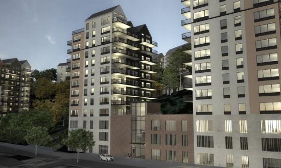 Hökerum Bygg räknar med att ha ett färdigt förslag för området, justerat efter kommunens önskemål, nu i sommar.