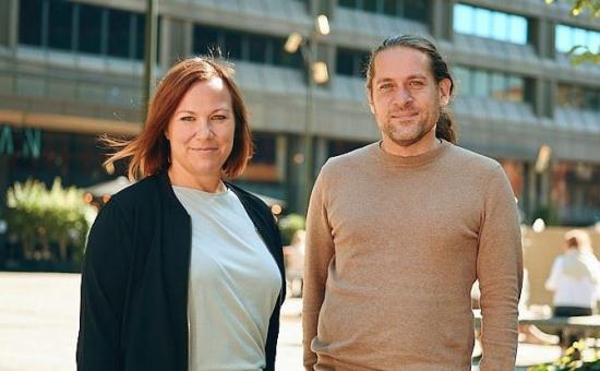 Mårten Bäckman och Mari Johansson ta över som Ansvarig Arkitektur Stockholm.
