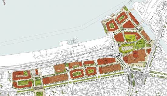 Illustrationskarta över planområdet.