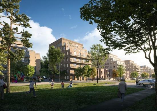 Stockholms stad, nominerad till Planpriset 2019 (bilden är en illustration).