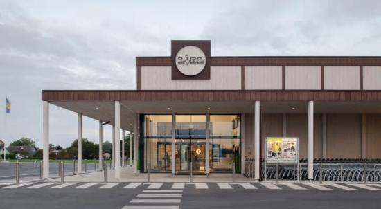 Lidl-butiken i Visby, ritad av LINK Arkitektur, är nominerad till Årets Bygge.