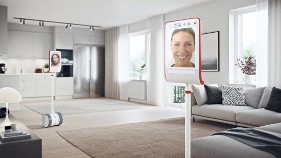 Se nya lägenheter med hjälp av robotar.