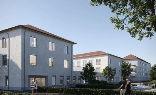 Fyra Instalcobolag får installationsuppdrag vid bygget av Gyllehemmet i Borlänge (bilden är en illustration).