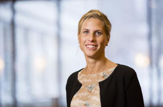Charlotte Thelm, vice divisionschef Building Sverige, och ordförande i styrgruppen för samarbetet mellan NCC och Fryshuset.