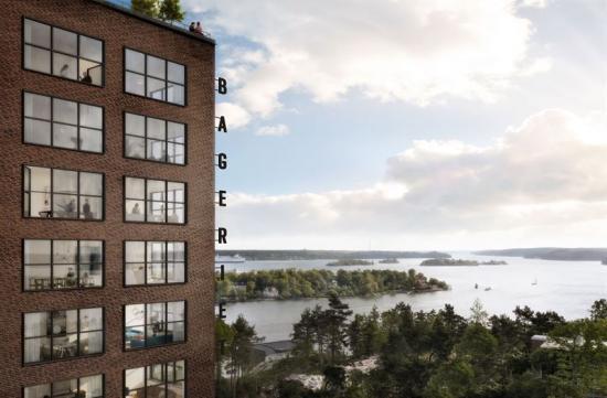 Den enda bostaden som fortfarande är till salu är det spektakulära Penthouset på 295 kvadratmeter ochmed 121 kvadratmeter takterrass.