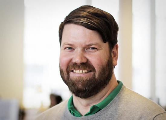 Johan Forsman Sachs, uppdragsansvarig arkitekt på Nyréns Arkitektkontor.