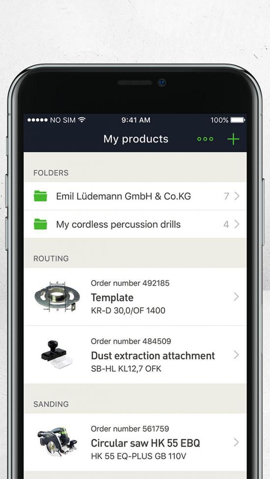 Skapa inköpslistor digitalt eller gör en gemensam beställning för hela teamet och skicka till favoritåterförsäljaren. Dela inköpslistor och skriv ut eller skicka dem direkt till återförsäljaren via e-post.