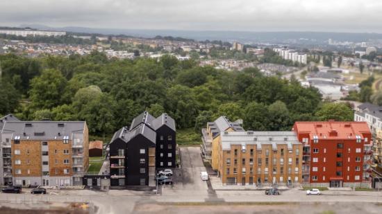 Jönköpings största trähusprojekt.