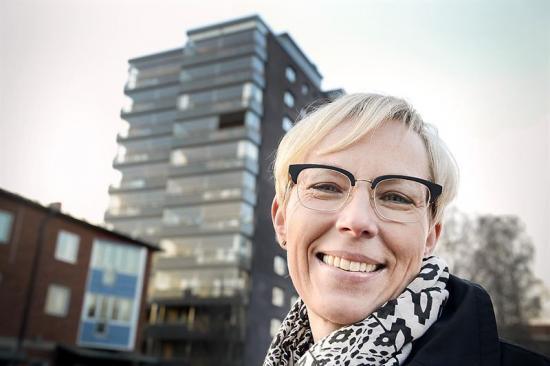 Åsa Andersson tillträder som vd för Skebo 8 augusti 2016.