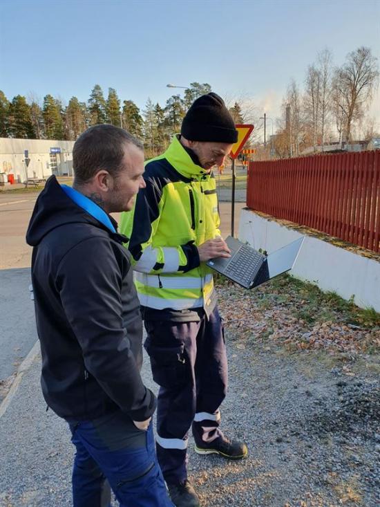 Mattias Bornerberg och Robin Lindberg.