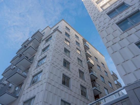 Familjebostäder har nominerat kvarteret Algoritmen i Hagastaden till Årets Stockholmsbyggnad 2021.