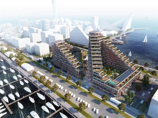 Nicolinehus i Århus är ett byggprojekt på totalt 40000 kvadratmeter.