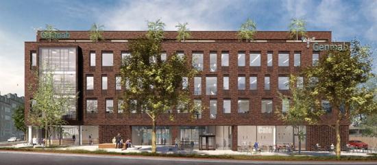 Kontorværket i Valby ska bli Genmabs nya huvudkontor (bilden är en illustration).