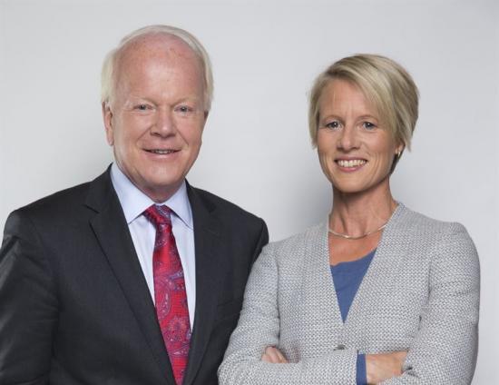 Kurt Eliasson ochAnna Sander, bådautredare i Kommittén för modernare byggregler.