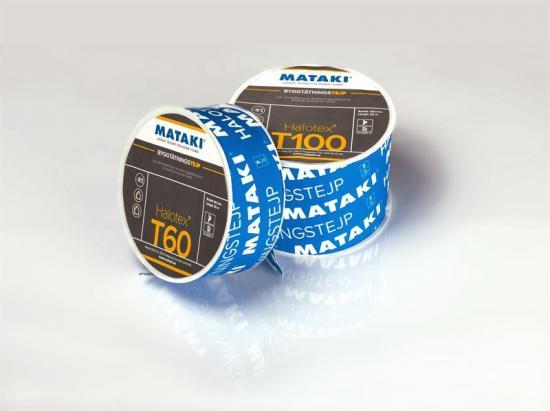 Halotex T60 och T100 används för att lufttäta skarvar på både in- och utsidan av väggkonstruktioner.