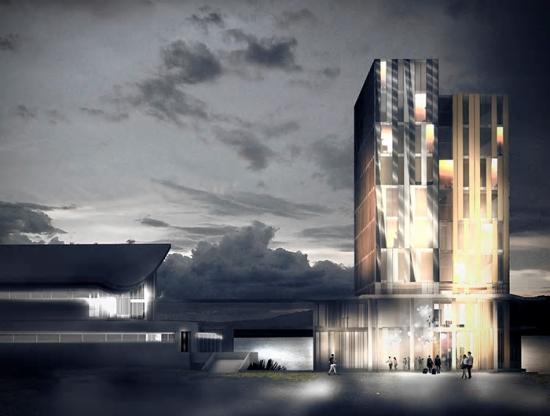 Visionsbild överHernö Gin Hotell (bilden är en illustration).