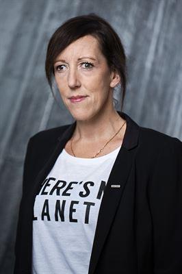 Maria Hernroth, Peabs hållbarhetschef och representant för Byggföretagen inom Samhällsbyggnadssektorns etiska råd.