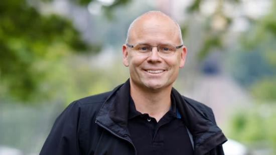 Magnus Lindblom, ny gruppchef på Forsen.