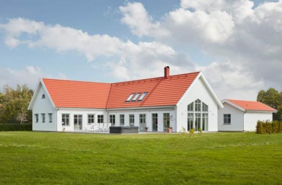 Villa Österlen av Trivselhus AB.