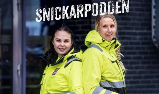 JM:s snickarlärlingar Linn Gergi och Susanne Wacklin, som driver Snickarpodden – årets vinnare av byggbranschens jämställdhetspris \
