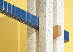 I inspirationsmagasinet PLAY, utformat av Note Design Studio, visas Tarketts cirkulära material på kreativa sätt.