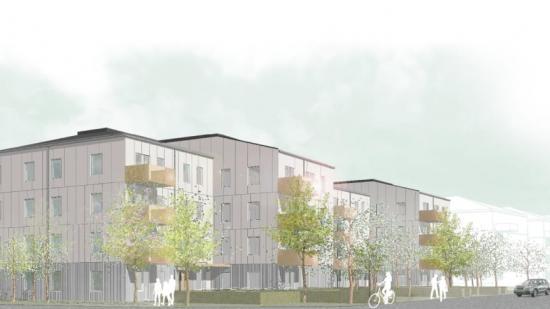 Kvarteret Signallottan 2 ligger vid Stora Törnekvior och Ada Blocks gata på A7-området i Visby.